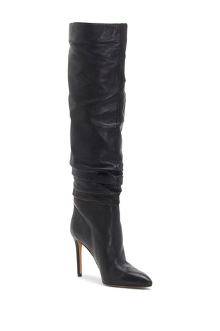Vince Camuto Kashiana Stiletto Slouched Pull-on Imported Boot Black Dress Boots