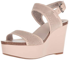 Vince Camuto Women's Vessinta Wedge Sandal Blush Nude Platform