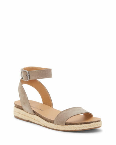 Lucky Brand Women's Garston Espadrille Wedge Flat Sandal BRINDLE