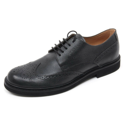 TOD'S Mens OXFORD LEATHER SHOES Black XXM0XI00C10SHKB999