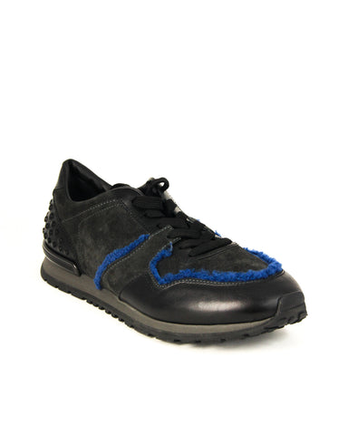 Tod's Men's ALL.DOTS Shoes Leather Trainers Sneakers, NERO XXM0XH0R012HNK39FS