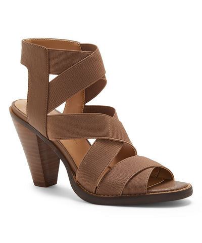 Jessica Simpson Women's Brown Ankle-High Jestelle Sandal Porcini