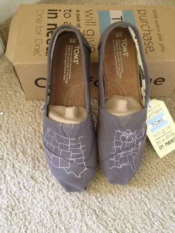 Toms Classics Vagabond Canvas Men's Grey Shoes