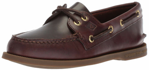 Sperry Top-Sider A/O 2-Eye Leather Boat Shoes AMARETTO