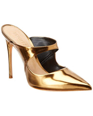 Schutz Nicolly New Bronze Slip On Pointed Toe Stiletto Pumps