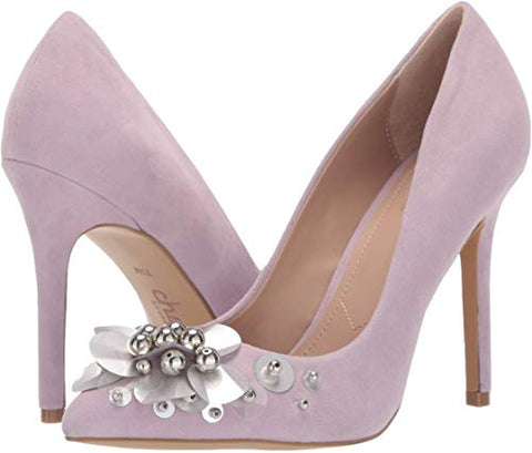 CHARLES BY Charles David Preston LILAC Pointed Toe Stiletto Pump