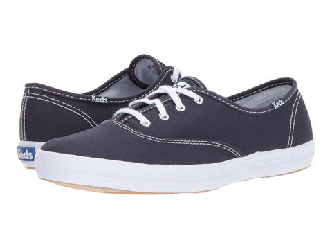 Keds Champion Core Lace Up Fashion Canvas Sneaker NAVY