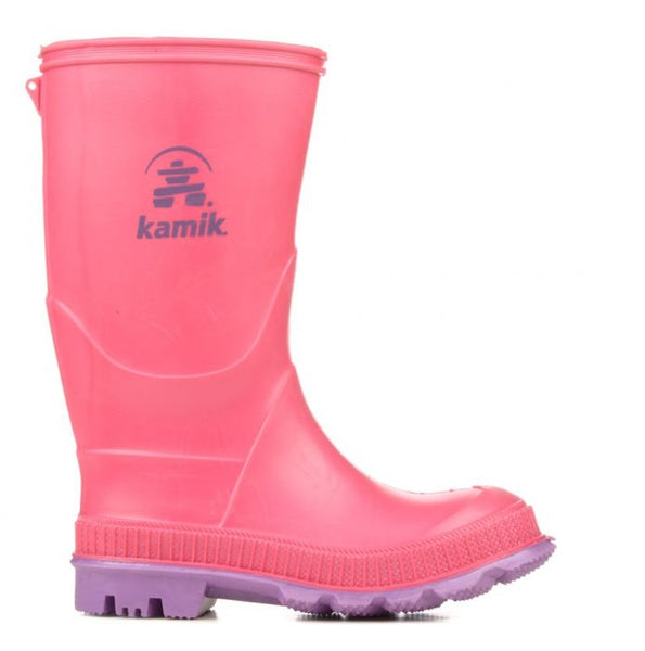 Kamik Stomp Rain Boot Toddler/Little Kid/Big Kid Waterproof Rubber Boots