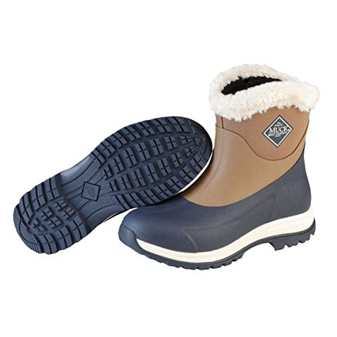 Muck Boot Women's Arctic Apres Snow Otter/Navy/Fog Snow Boots