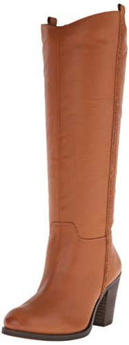 Lucky Women's Ebbie Riding Boot Aztec Brown KNee High Boots Size 6.5
