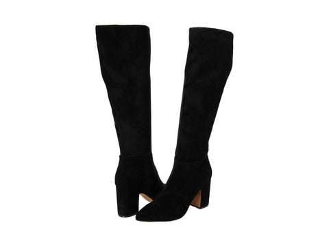 Steve Madden Women's Limo Knee High Fashion Boot Black/Black