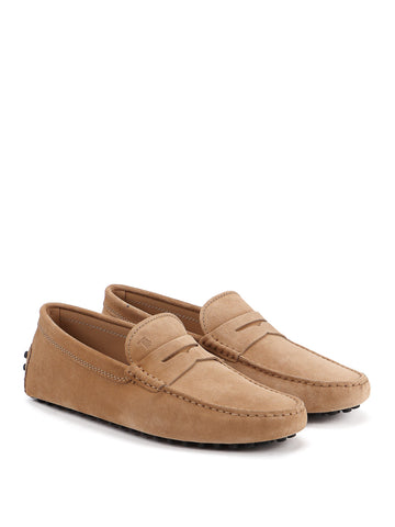 Tod's Men's  City Gommino Suede Moccasins Loafers Shoes
