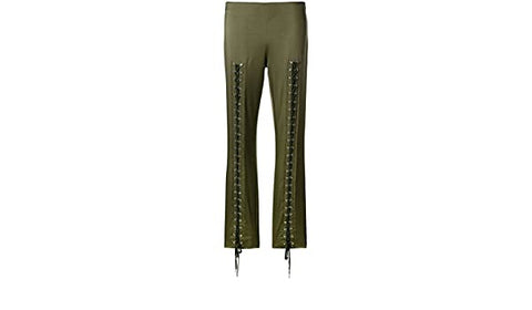 Moschino Women's Casual Triacetate Trousers Green A031655250440