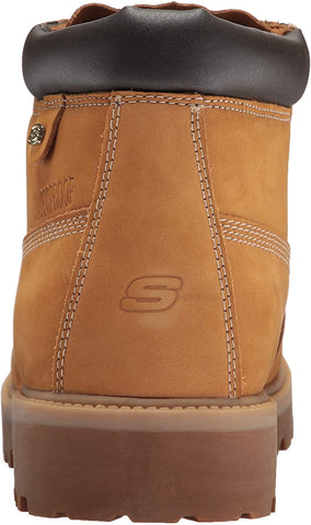 Skechers Men's Sergeants Range Top Work Boot White/Navy