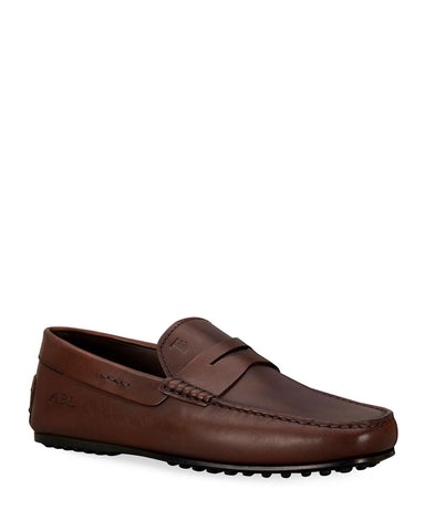 Tod's Men's LACCETTO City Leather Moccasins Loafers Shoes 10.5 UK / 11.5 US