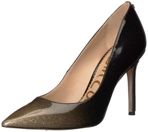 Sam Edelman Women's Hazel Degrade Crystal Patent Pointed Toe Dress Pumps