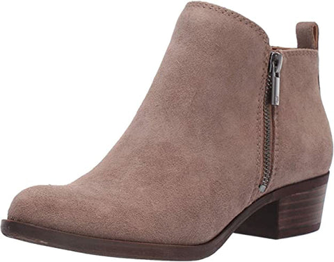Lucky Brand Women's Basel Ankle Bootie Brindle Suede Ankle Booties