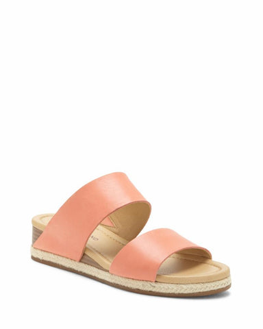 Lucky Brand Women's Wyntor Espadrille Flat Wedge Sandal CORAL