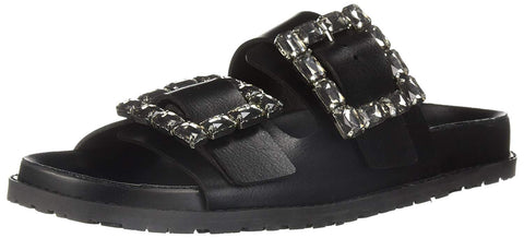 LFL by Lust For Life Women's LL-Keeper Slide Sandal, Black Polyurethane