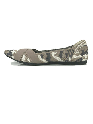 Steven By Steve Madden Roamy Camouflage Camo Pointy Toe Knit Flats Shoes