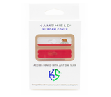Kamshield Webcam Cover | California Republic + Red