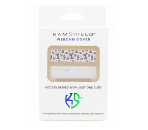 Kamshield Webcam Cover | Mermaid Vibes + Silver