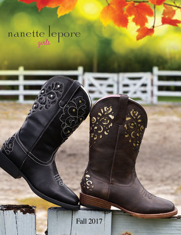 Nanette Lepore girls catalog FALL 2017