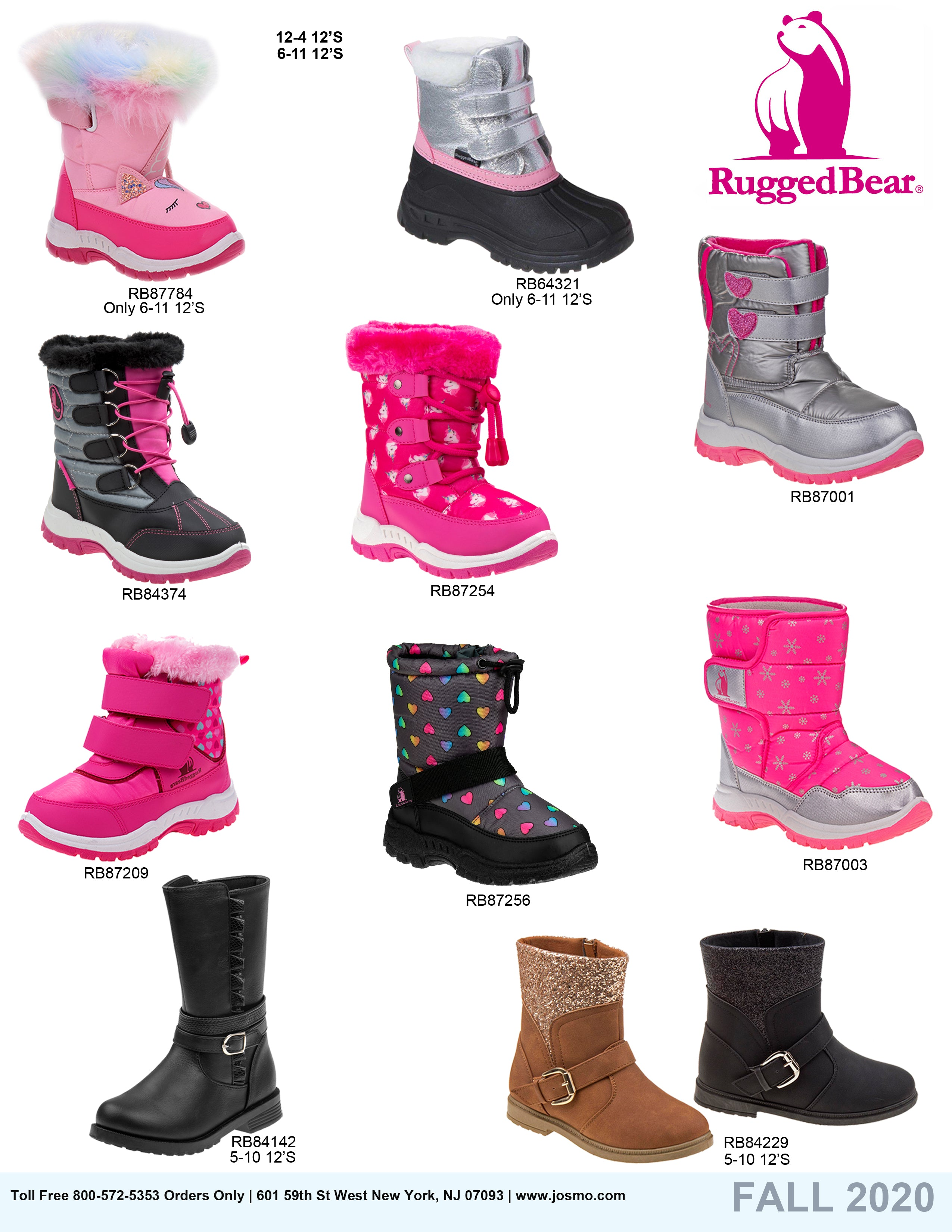 Rugged Bear Catalog Fall 2020