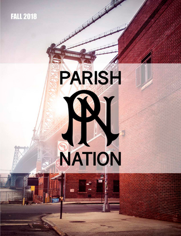 Parish Nation Fall 2018 cover