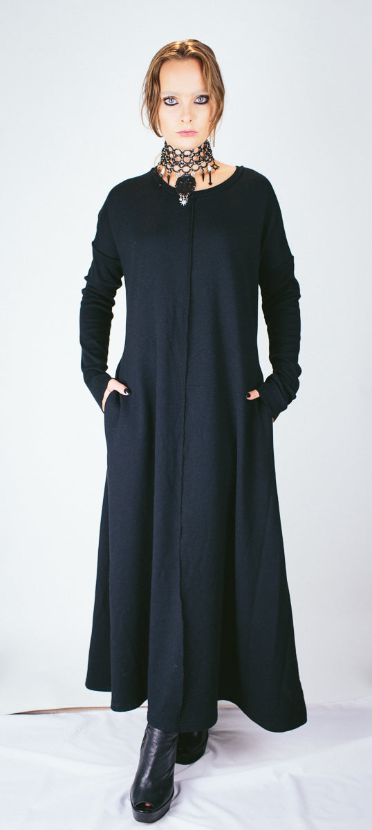 Long Bamboo Boyfriend Dress