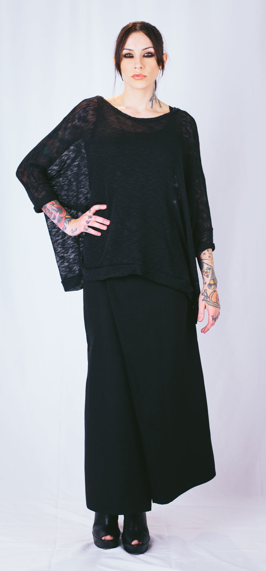 Oversize Slub Sweater