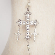 Load image into Gallery viewer, Long Cross Necklace