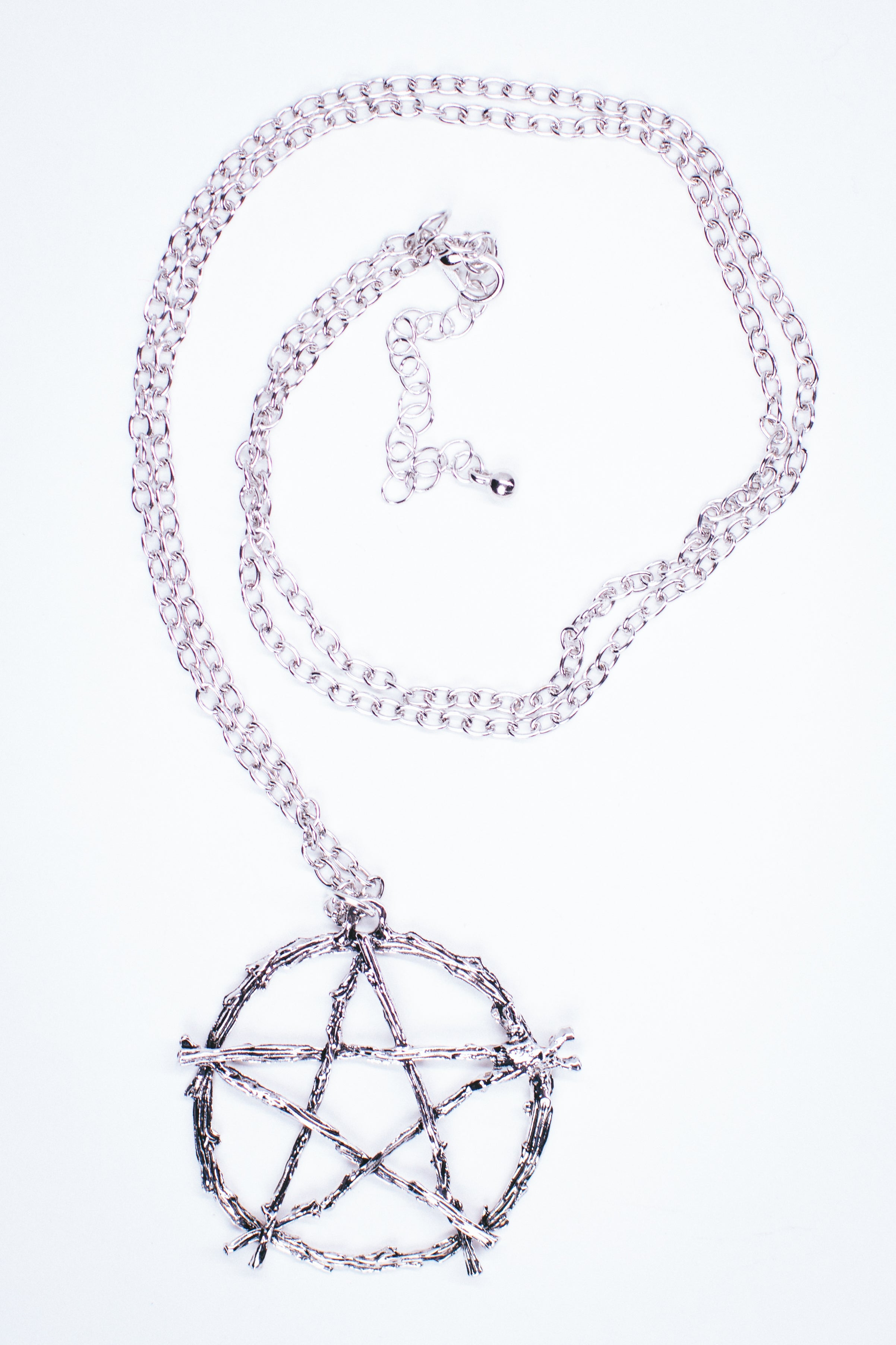 Pentagram Twig Necklace