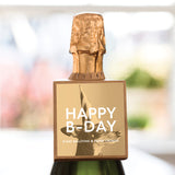 Bottleneck Mini™ Gift Tag - Happy B-DAY