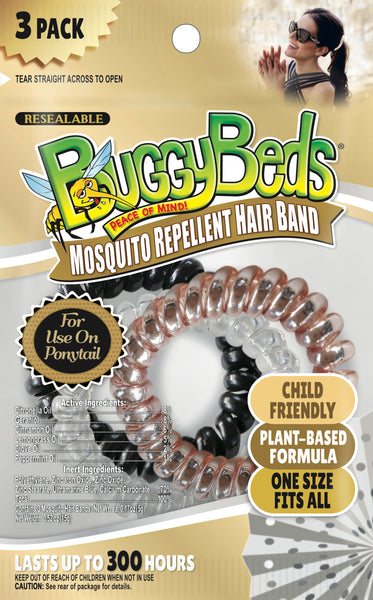 Mosquito Repellent Hair Bands - 9 Pack