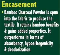 Bamboo Charcoal Pillow Encasement