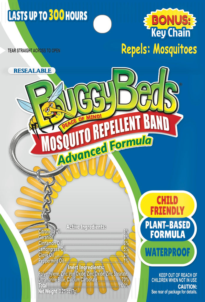 Mosquito Repellent Keychain- 3 Pack