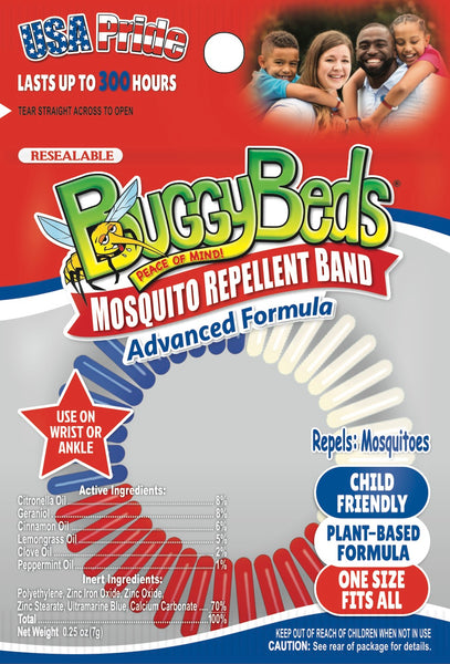 USA Mosquito Repellent Bands - 12 Pack