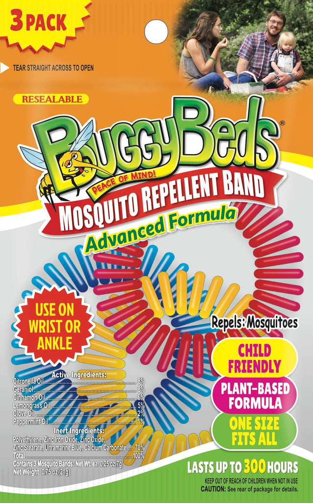 Mosquito Repellent Bands- 3 Pack