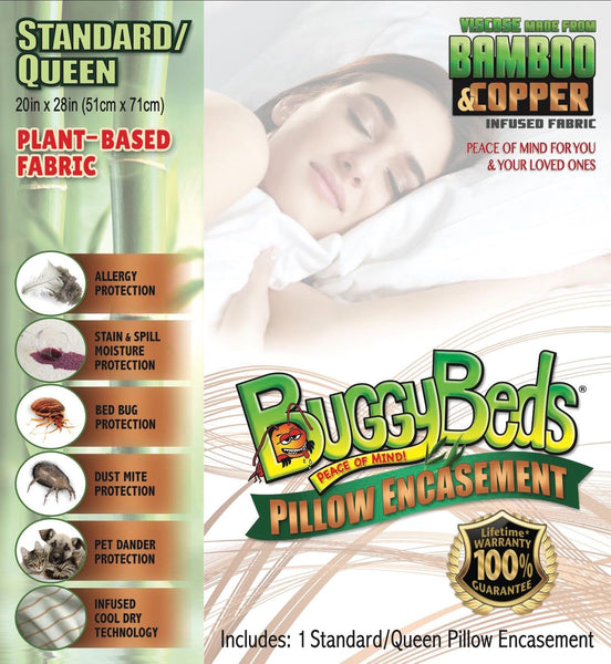 Bamboo Copper Pillow Encasement