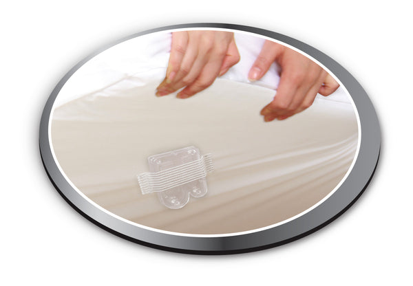 Protect 'n Detect® BuggyBeds® Bamboo Charcoal Infused Mattress Encasement and Bed Bug Glue Trap