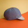 Mod.303 The San Andrés Reversible Cap in Linen and Cotton: Boats by Day