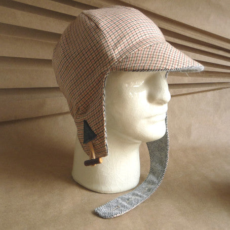 The Blériot Winter Cycling Cap with Ear Flaps
