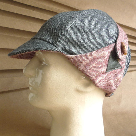 The Blériot Wool Ear-Flap Reversible Cycling Cap