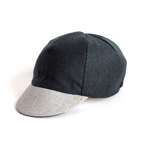 Mod.312 Waxed and Wool Classic Cycling Cap