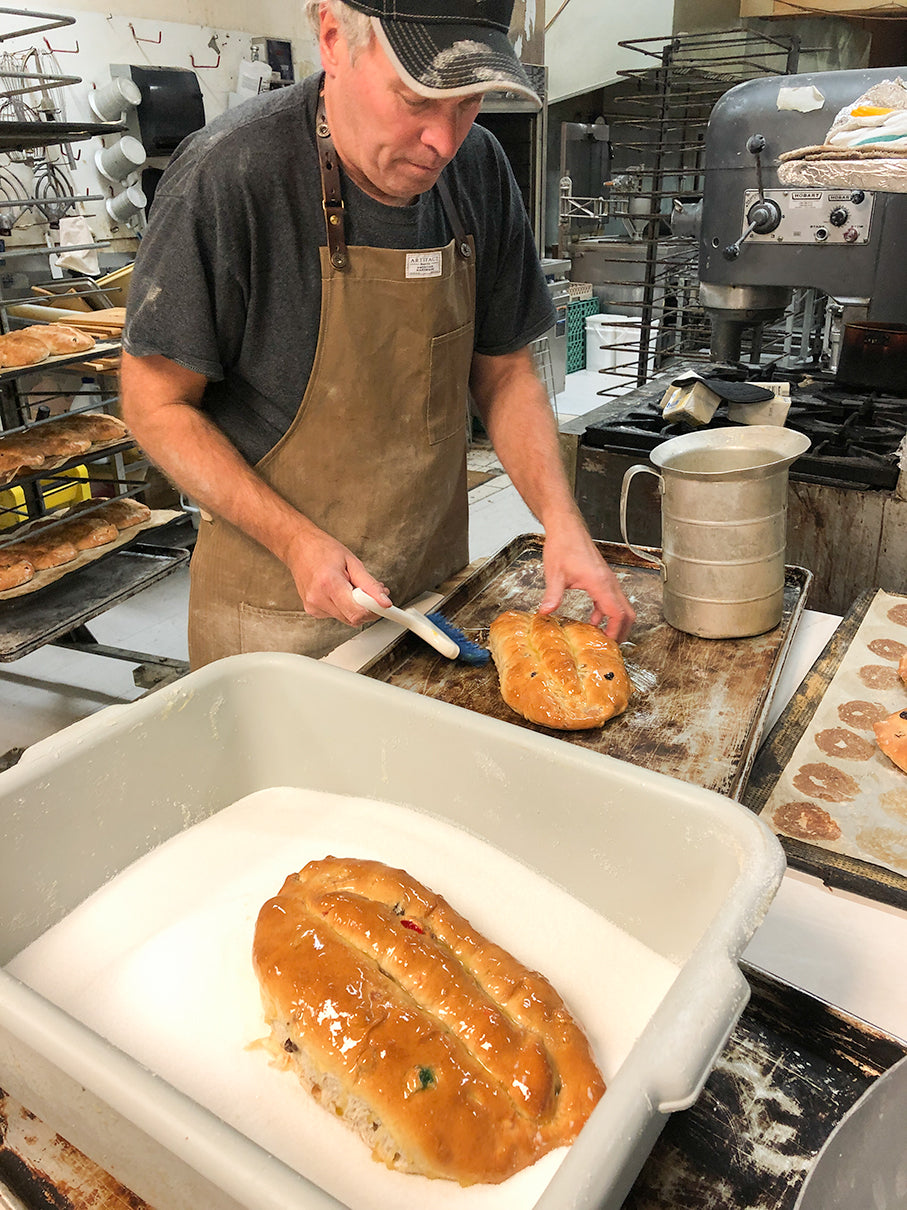 Matt Sehnert baking stollen bread James Beard McCook NE