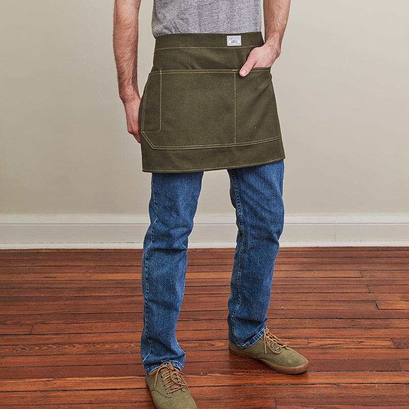 Artifact Bluebird Duck Canvas Waist Apron