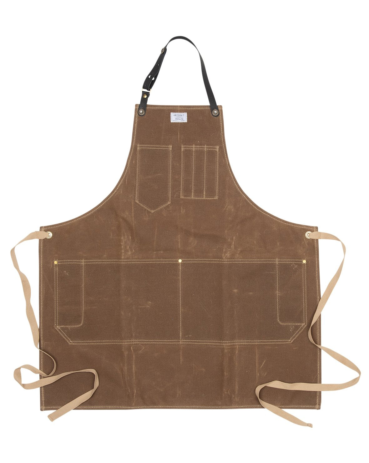 Wax Canvas Workshop Apron w/ Removable Strap