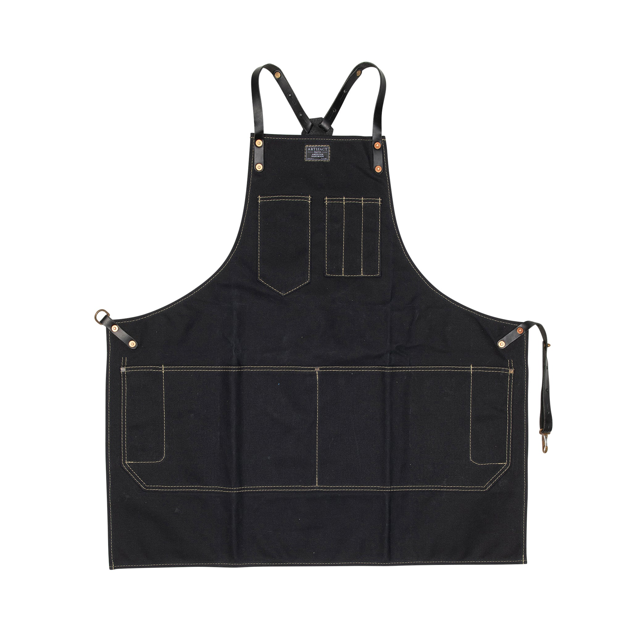 Wax Canvas Artisan w/ Leather Y-Strap - Artifact Aprons 8