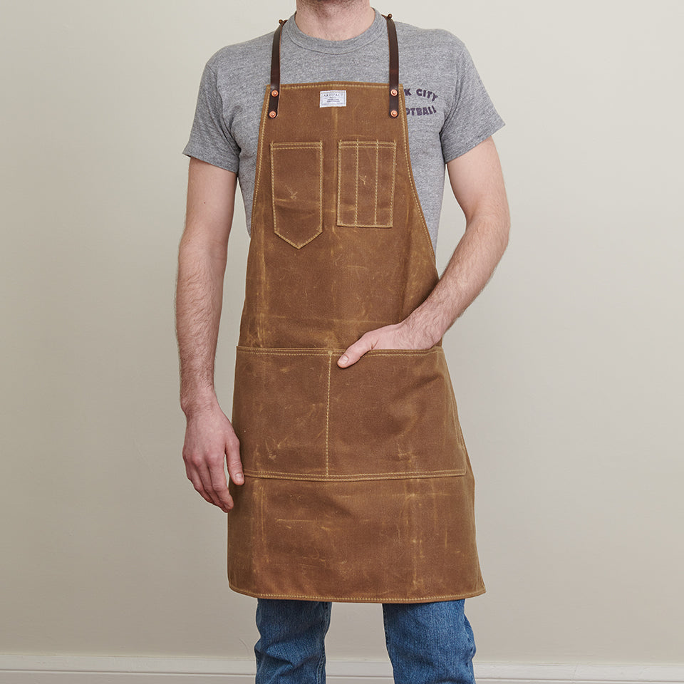 Wax Canvas Artisan w/ Leather Y-Strap - Artifact Aprons 5